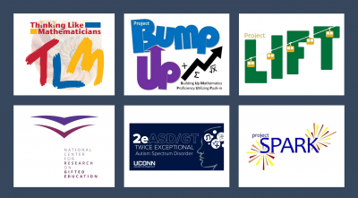 Logos for funded research projects