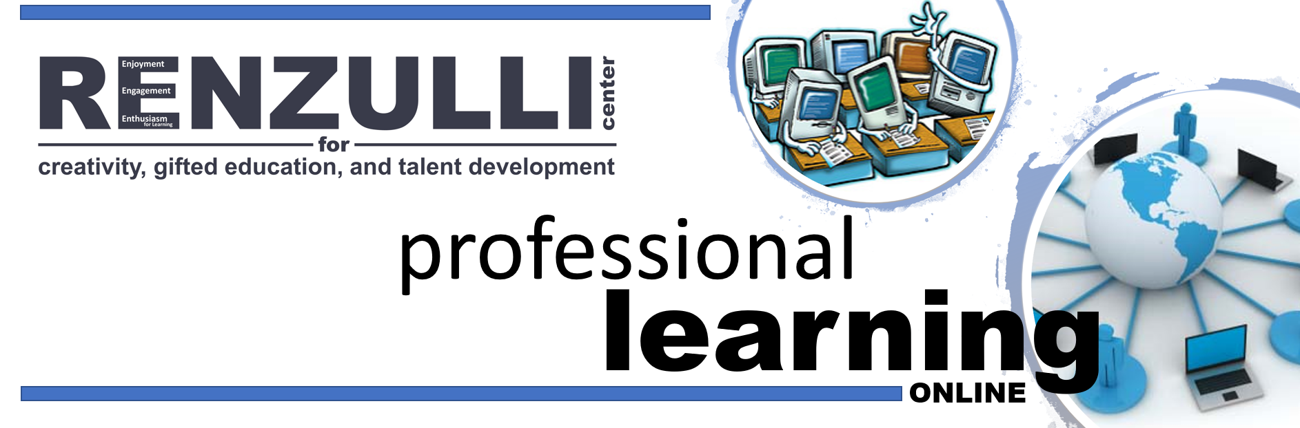 Graphic for Professional Learning Online
