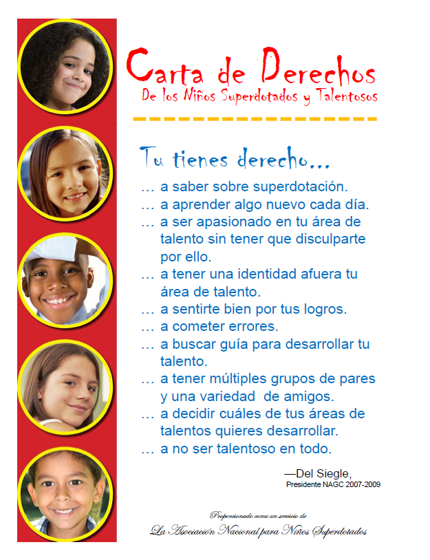 Graphci of Spanish Bill of Rights