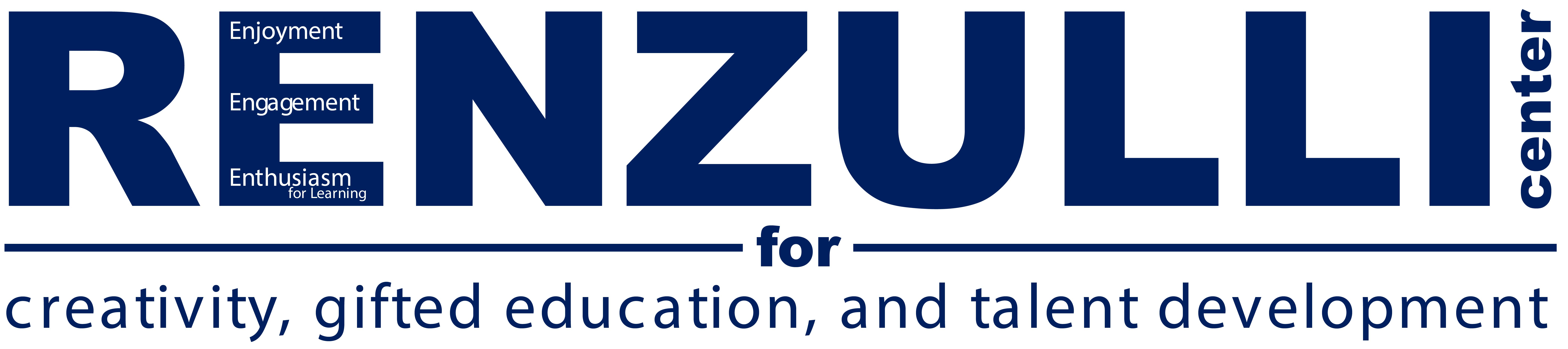 Renzulli Center for Creativity, Gifted Education, and Talent Development Logo